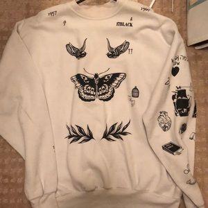 Harry Styles Tattoo Sweatshirt
